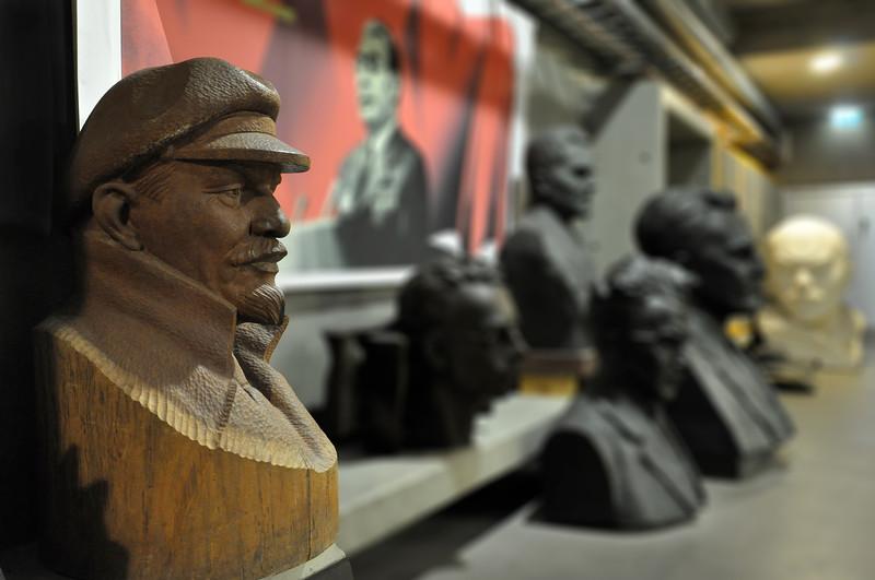 Wooden Statue of Vladimir Lenin. 2010.