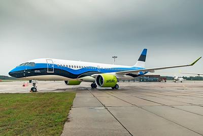 Air Baltic Airbus A220-300 YL-CSJ 8-21-19