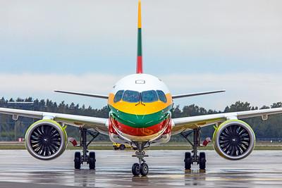 Air Baltic Airbus A220-300 YL-CSK 8-21-19