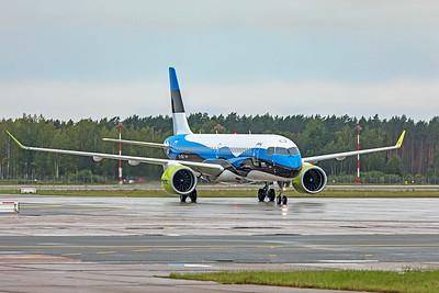 Air Baltic Airbus A220-300 YL-CSJ 8-21-19 1