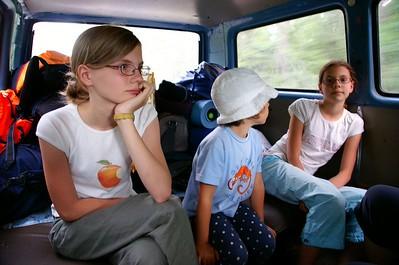 W drodze na jez Białe Łokaje