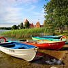 """Row"" - Trakai Island Castle, Lithuania"
