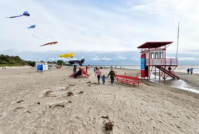 Strand im Seebad Pärnu