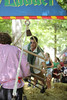 This particular feat of balance ALWAYS had someone trying their skills!<br /> 2010 Maryland Renaissance Festival