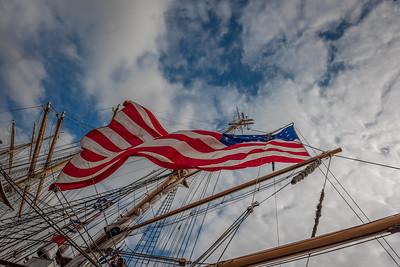 2016-09-17-USCG Eagle Flag
