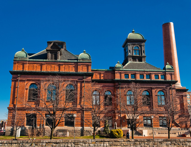 Baltimore Public Works Museum, Inner Harbor, Baltimore, Maryland