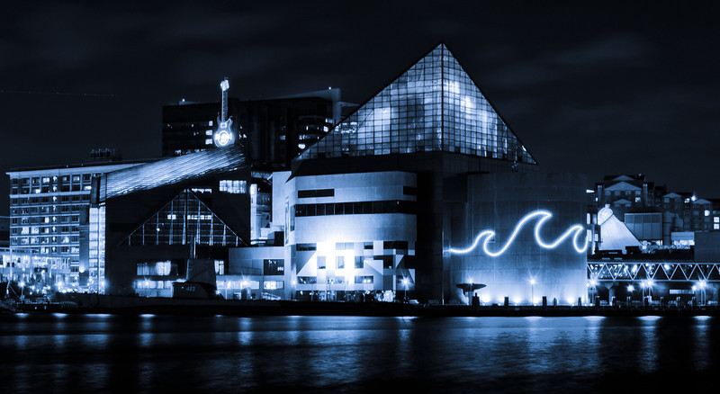 The National Aquarium at Inner Harbor, Baltimore, Maryland