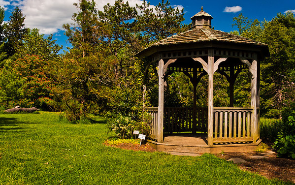 Gazebo at Cylburn Arboretum, Baltimore, Maryland