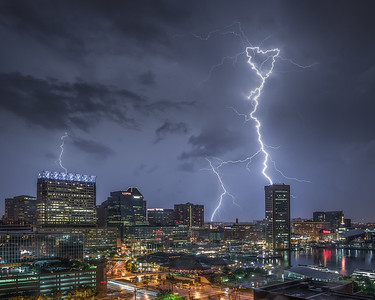 2015-07-01-Inner- Harbor-Lightning-11