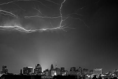 Summer Storm Over Baltimore