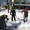 The shovel brigade