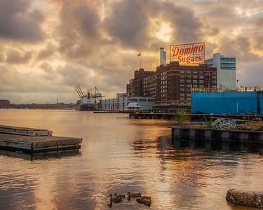 Morning at Domino Sugars, Baltimore, Maryland