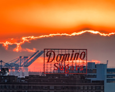 Dawn Over Domino, Baltimore, Maryland