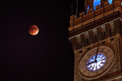 BromoSeltzer Arts Tower Blood Moon (Lunar Eclipse), Baltimore, Maryland