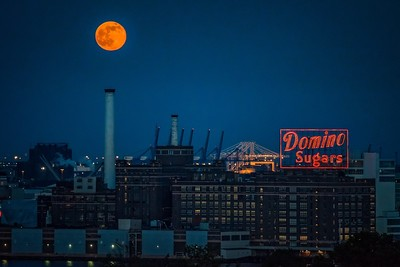 2017-06-09-Orange-Moon-Over-Domino