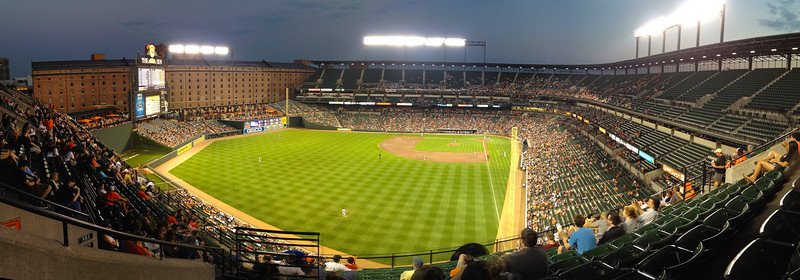 Oriole Park at Camden Yards. 2012.