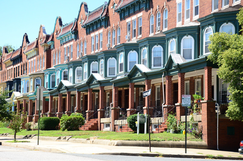 Greater Waverly Row Homes.