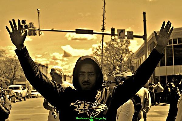 #BaltimoreUprising 2015 [Sepia Series]