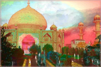 Garden of Agra Adara