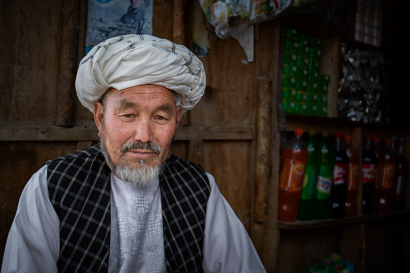 A small shop in the Surkhqul area in Bamyan.