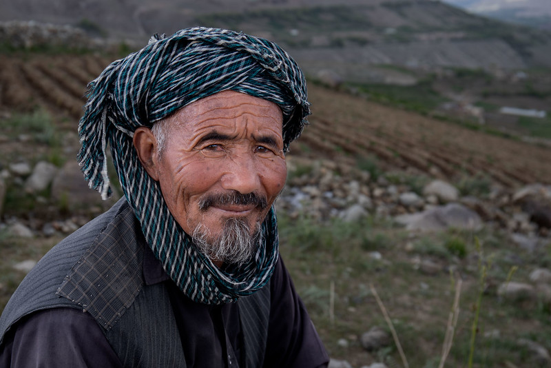 Foladi valley farmer (near Bamyan).
