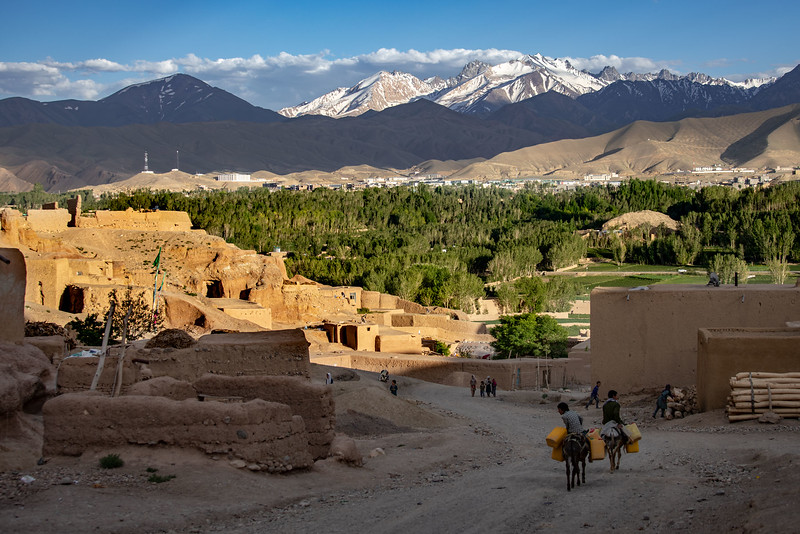 View from the Surkhqul area in Bamyan.