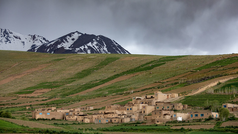 A small village in the Foladi valley (near Bamyan).