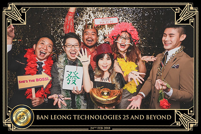 Ban Leong DnD & 25th Anniversary | © www.SRSLYPhotobooth.sg