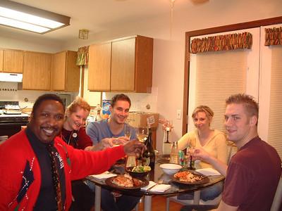 20051224 Christmas Eve at Dan