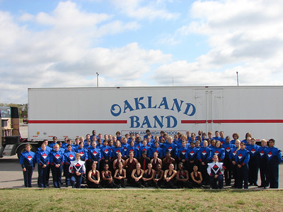 Oakland High School Band 07-08