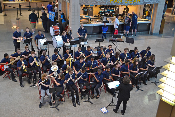 Band Performs At Phila. Soul Football Game