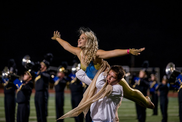 Band & Spirit - SHS vs Deer Creek 2016