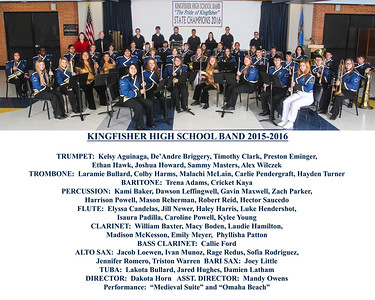 Band State Champions 2016