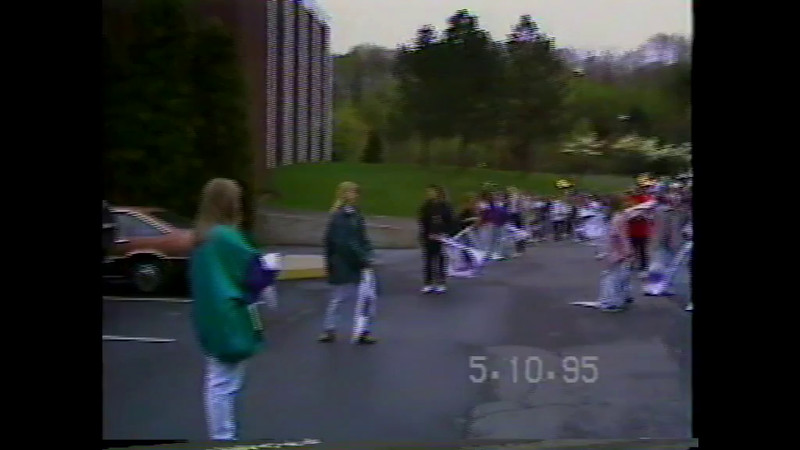 1995 Disney Parade and Practice
