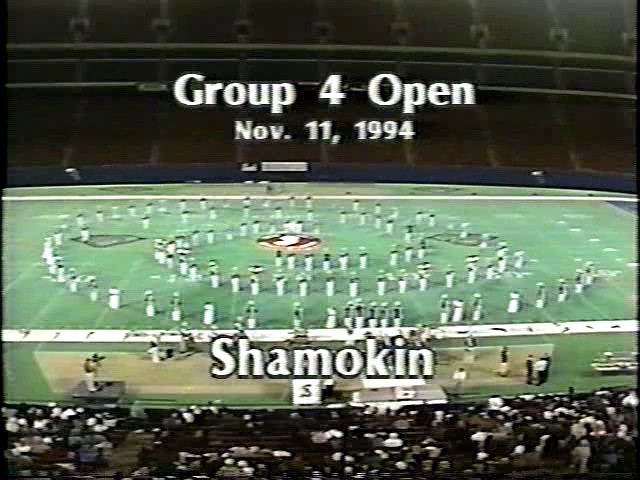1994 (1-2) At Giants Stadium. 1. Mutiny on the Bounty 2. Drunken Sailor 3. Popeye's Theme [A side note, the band played here on Friday and after their performance, drove back to Shamokin and slept in the school for three hours, before driving to Scranton to perform on Saturday.]
