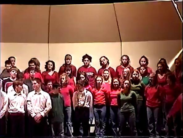 2001 Christmas Concert