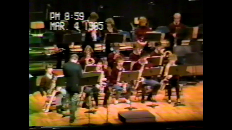 March 1985 Jazz Band