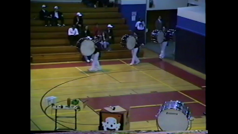 1995 Indoor Percussion (Four Shows)