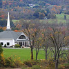 """....Nothing compares to the beauty of a chapel set on a hill during the fall...."""