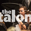The AHS band plays their annual Christmas concert on Tuesday, Dec. 15 at Argyle High School in Argyle, TX. (Caleb Miles / The Talon News)