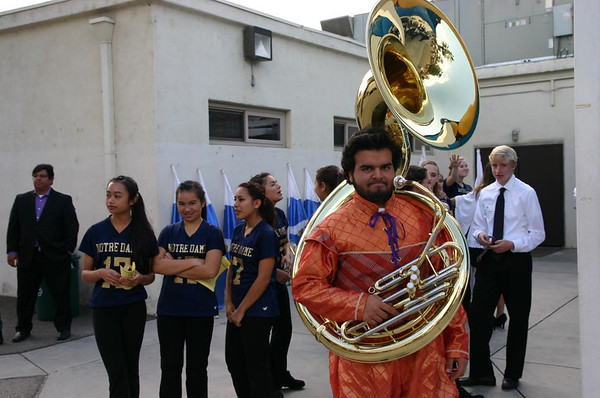 Band at Open House 2013