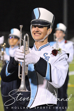 Band - Stone Bridge Marching Bulldogs 11.4.2016 (by Steven Holland)