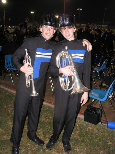 When Chris was in Band