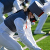 The Argyle Eagle Marching Band preforms in their first competition of the season. (Nicholas West | The Talon News)