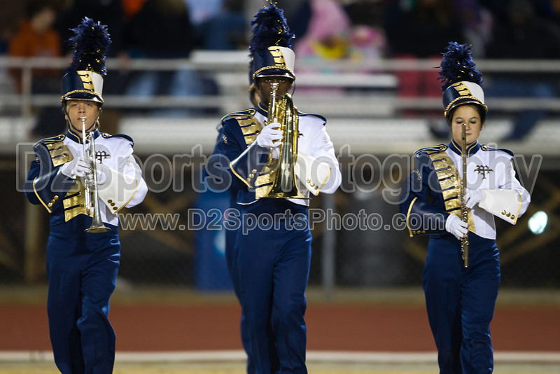 Mt Tabor Band<br /> Tabor - Davie Football Game<br /> Friday, November 19, 2010 at Mt Tabor High School<br /> Winston-Salem, North Carolina<br /> (file 212829_BV0H6864_1D4)