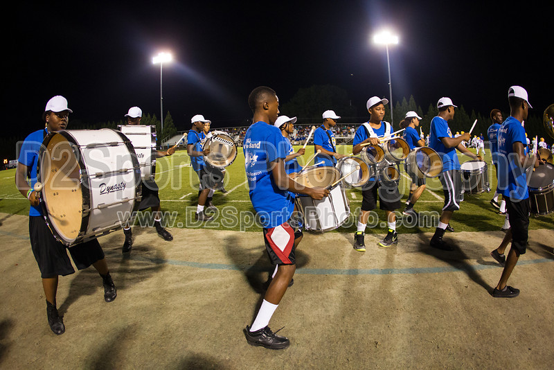 Mt Tabor and Carver Bands<br /> Mt Tabor Spartans vs Carver Yellow Jackets Varsity Football Game<br /> Friday, September 06, 2013 at Mt Tabor High School<br /> Winston-Salem, North Carolina<br /> (file 205809_BV0H5725_1D4)