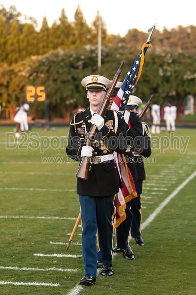 Mt Tabor and Carver Bands<br /> Mt Tabor Spartans vs Carver Yellow Jackets Varsity Football Game<br /> Friday, September 06, 2013 at Mt Tabor High School<br /> Winston-Salem, North Carolina<br /> (file 191547_803Q4766_1D3)