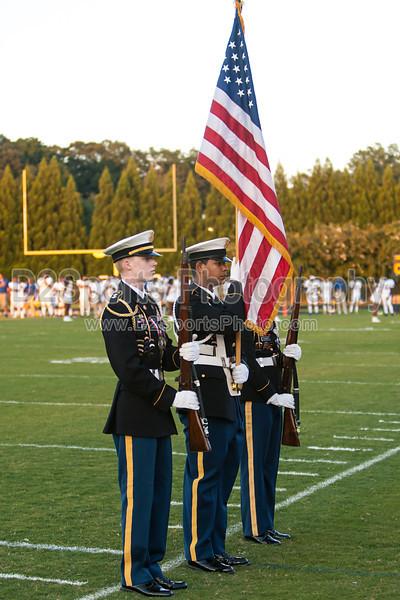 Mt Tabor and Carver Bands<br /> Mt Tabor Spartans vs Carver Yellow Jackets Varsity Football Game<br /> Friday, September 06, 2013 at Mt Tabor High School<br /> Winston-Salem, North Carolina<br /> (file 191624_803Q4775_1D3)