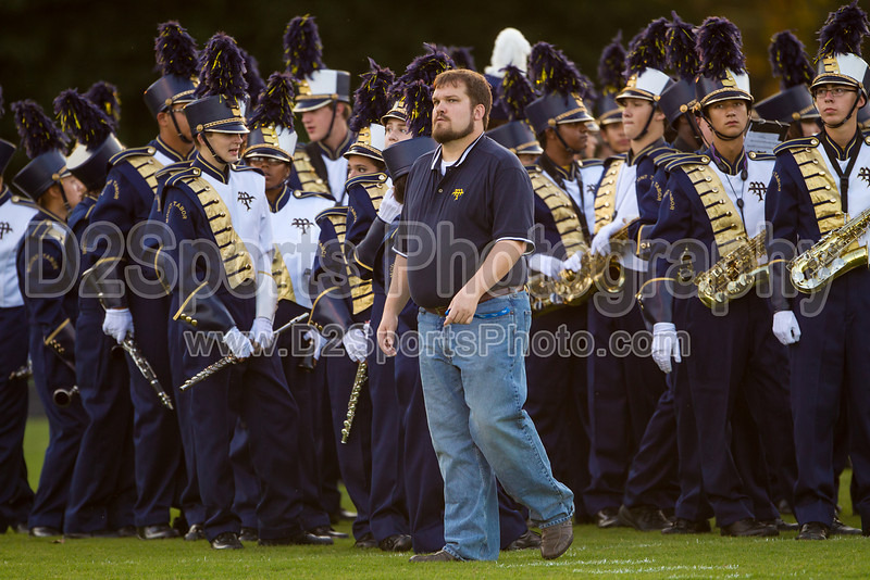 Mt Tabor and Carver Bands<br /> Mt Tabor Spartans vs Carver Yellow Jackets Varsity Football Game<br /> Friday, September 06, 2013 at Mt Tabor High School<br /> Winston-Salem, North Carolina<br /> (file 191112_BV0H5192_1D4)