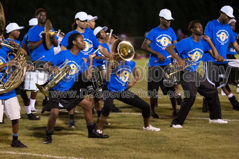 Mt Tabor and Carver Bands<br /> Mt Tabor Spartans vs Carver Yellow Jackets Varsity Football Game<br /> Friday, September 06, 2013 at Mt Tabor High School<br /> Winston-Salem, North Carolina<br /> (file 204358_803Q5061_1D3)